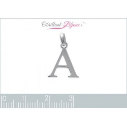 pendentif argent 925 lettre Y Obrillant-Bijoux