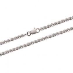 Bracelet en argent 925/000 maille corde ronde 3 mm Obrillant-Bijoux