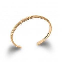 Jonc en plaqué or avec petits picots obrillant-bijoux