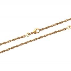 Bracelet en plaqué or maille corde 1,75 mm obrillant-bijoux