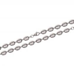 Bracelet en acier maille marine 10 mm obrillant-bijoux