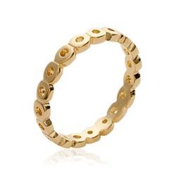 Alliance en plaqué or anneau fil ajouré Obrillant-bijoux