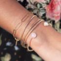 Bracelets en plaqué or
